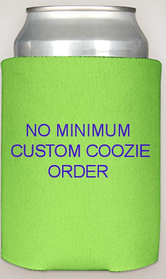 Custom coozie order no minimum bachelorette by for Custom shirts no minimum order