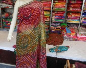 Designer Traditiional Printed Saree  Work Red Saree