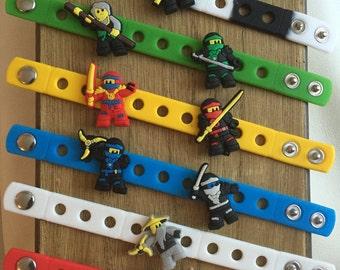 Ninjago PARTY FAVORS Charm Bracelets