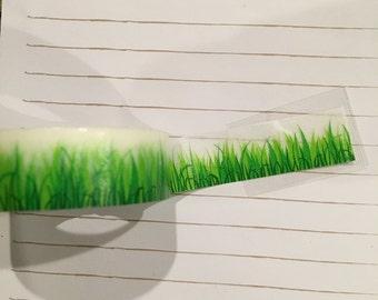 """Grass 24"""" Washi Tape Sample"""
