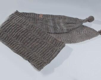 Llama wool scarf - Handmade in Argentina