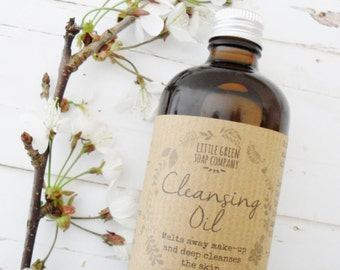 Cleansing Oil, Make-up Remover, Oil Cleansing Method, Facial Oil Cleanser, Essential Oils, Vegan Cleanser