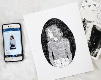 Custom Illustration (portrait)