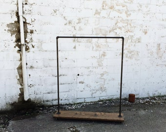 "Industrial Iron Pipe ""Original"" Clothes Rack"