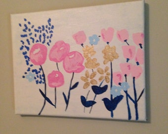 May Flowers- Canvas Art