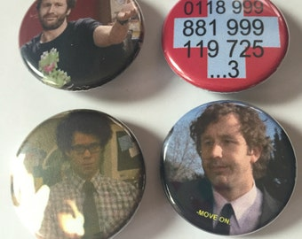 The IT Crowd pin pack