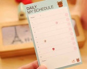 My Daily Schedule Sticky Post It To Do List School and Planner Supplies back to school planner stickers