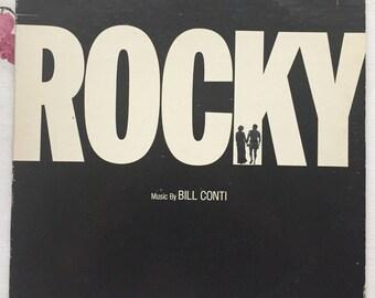 Rocky- Original Motion Picture Score Vintage Vinyl 1976