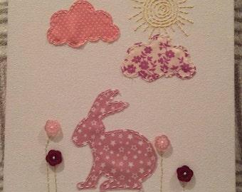 Billie Bunny Canvas