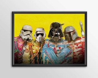 Star Wars Art - Alternative Universe 6 - Sgt Pepper