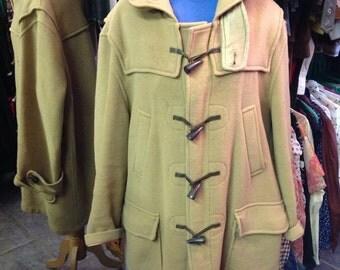 Aquascutum camel duffle coat size 40