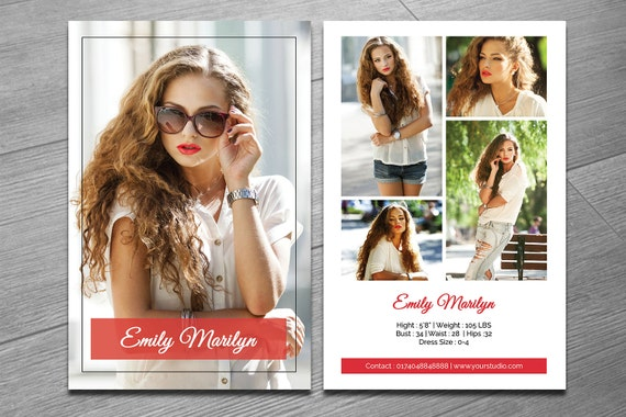 free comp card template - modeling comp card template fashion model comp card ms