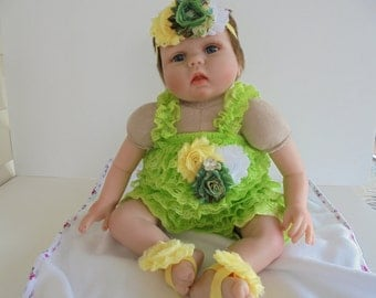 lime petti romper,lime romper set,birthday romper,photo prop romper,baby lime rompers,girls rompers,ruffle rompers,baby outfits,lime rompers