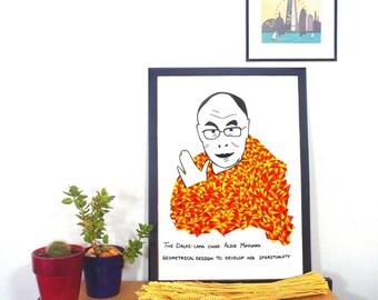 Dalai-Lama - Original poster