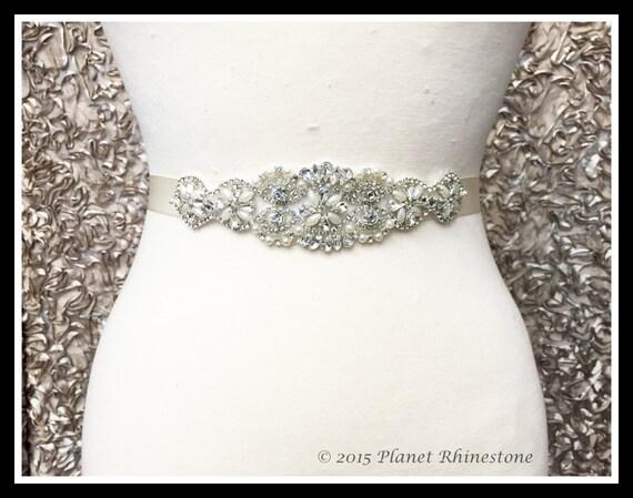 diy bridal sash wedding dress sash belt applique