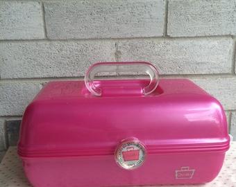 Pink Caboodles, Caboodle organizer, Caboodles organizer, Caboodles organizing box
