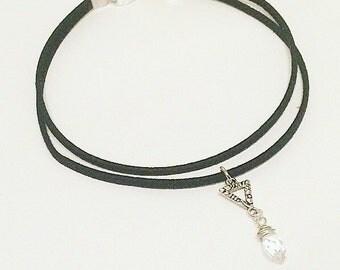 Necklace choker * crystal *.