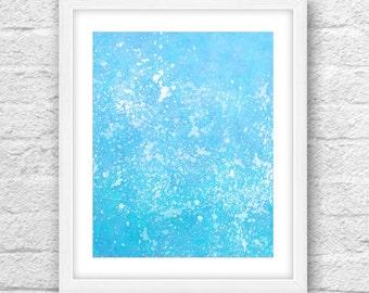 Watercolor Sea,Sea art, Modern art Watercolor, Blue, Turquoise, Watercolor art, Sea foam, Blue Color art, Blue of Sea, Sea decor, Wall Art
