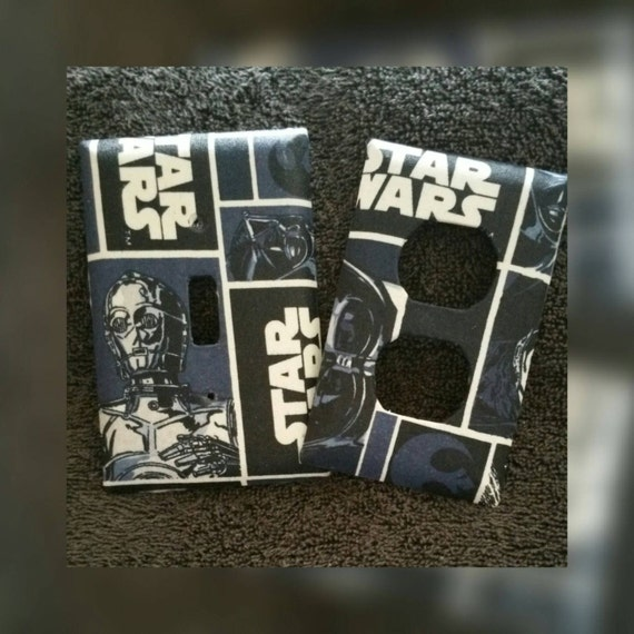 Star Wars Light Switch Cover Outlet Cover By