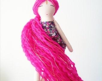 Heirloom doll, handmade doll