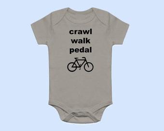 Biking Baby Onesie® - Pedal - Baby Onesies®