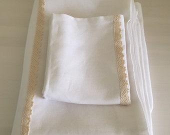Baby duvet cover, made of linen, baby bedding, nursery bedding, baby shower gift, organic bedding, baby duvet, crib duvet cover