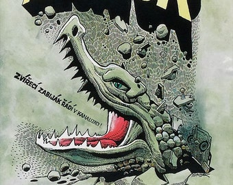 Alligator Movie POSTER (1980) Cult/Horror