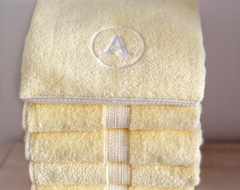 Personalized Lemon Towel