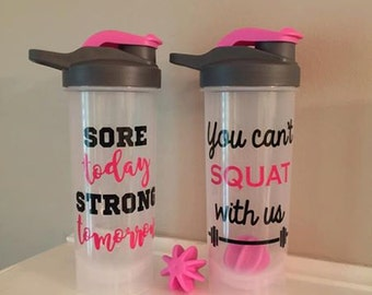 Personalized Shaker Bottle, Protein Bottle, Gym Bottle