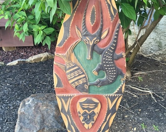 Unique African / Native American Tribal Shield Cameroon