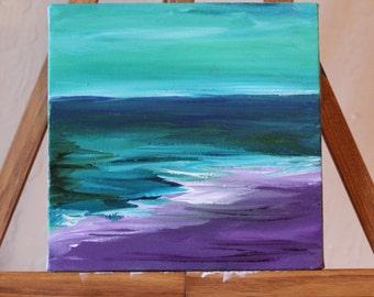 Abstract Shoreline