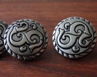 6 decorative buttons 6 metalic look buttons, 6 blazer buttons, 6 nice vest buttons