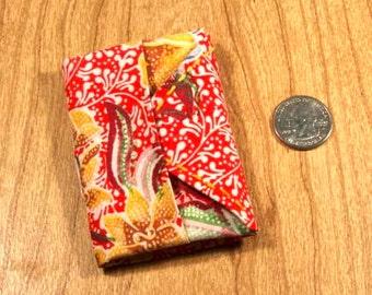 Origami Cloth Mini-Notebook