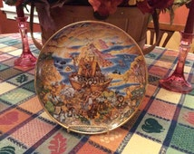 Noah's Ark, Two by Two Collectors Plate by Bill Bell, Franklin Mint