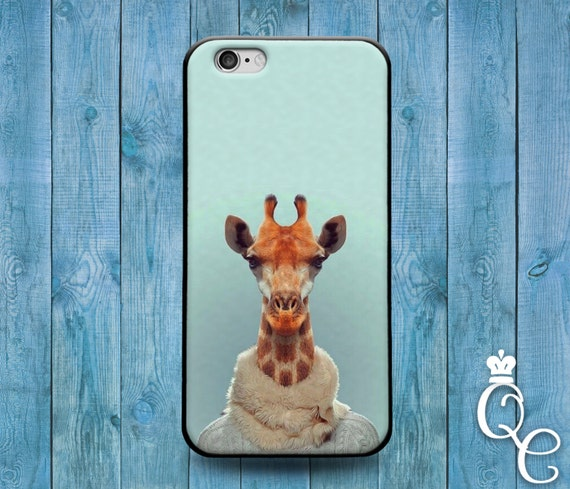 iPhone 4 4s 5 5s 5c SE 6 6s 7 plus iPod Touch 4th 5th 6th Gen Cute Mint Green Sweater Turtle Neck Giraffe Phone Cover Cool Funny Animal Case