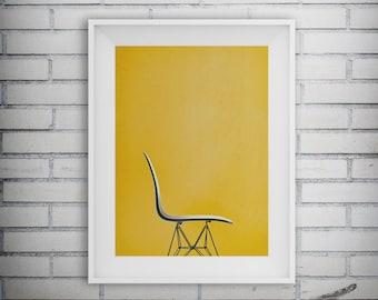 Chair Print, Living Room Decor, Office Poster, Home Furnishings Art, Furniture Print, Home Decor, Printable Art, Digital Download