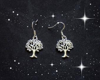 Tree Of Life Earrings/Wiccan Earrings/Pagan Earrings/Wiccan And Pagan Jewelry/Tree Of Life
