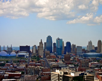 Kansas City Downtown Skyline