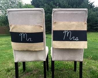 Rustic wedding banner