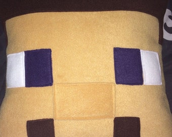 Minecraft Inspired Steve Cushion Cover