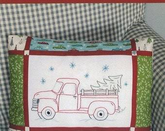 Vintage Holiday embroidery pattern by This and That