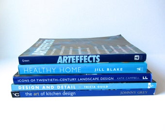 Shades of Blue Books (Set of 5)