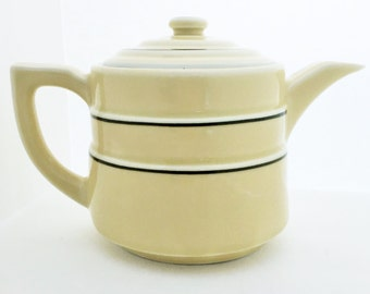 Vintage Coffee Pot//Art Deco Coffee Pot//Drip O Lator Coffee Pot//Ceramic Coffee Pot