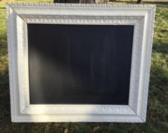 White Framed Chalkboard (Elsa)