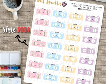 payday stickers, payday planner stickers, pay day stickers, pay day planner stickers, pay day planner stickers, 33 pay day stickers