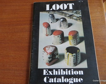 Loot Exhibition Catalog 1977,  Worshipful Company of Goldsmiths, Mid Century Modern