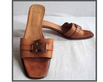 VINTAGE HERMES Hermes shoes/sandals.