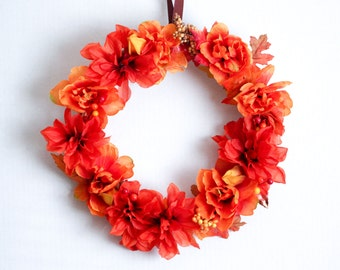 Fall Wreath | Wreath | Autumn Wreath | Front Door Wreaths | Outdoor Wreath | Fall Wreath for Front Door | Indoor Wreath | Fall Decorations