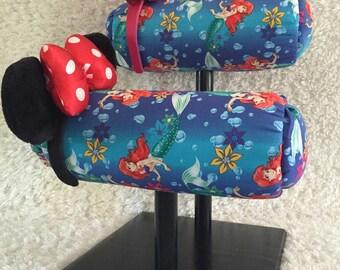 Little Mermaid mouse ears, Mouse ear display, Mouse ears, Disney ears, Minnie ears, Minnie ear display, Mickey Mouse, Disney Headband