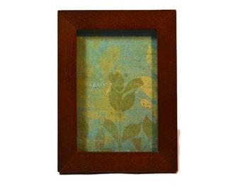 4 x 6 Wood Frame, Photo Frame, Cherry,  Traditional Decor,